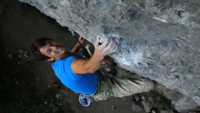 Učenje plezalne tehnike 1. del