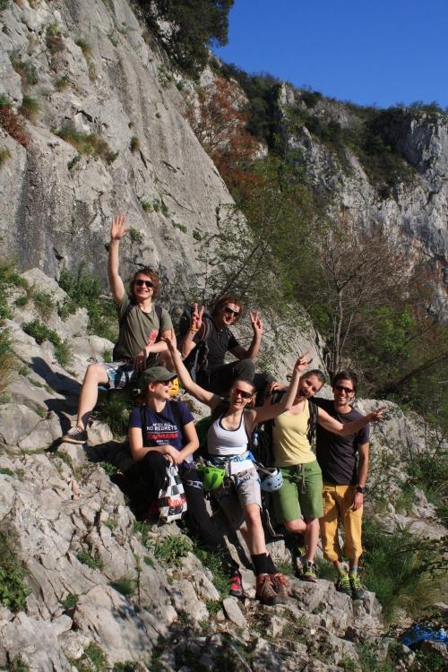 Tečaj športnega plezanja