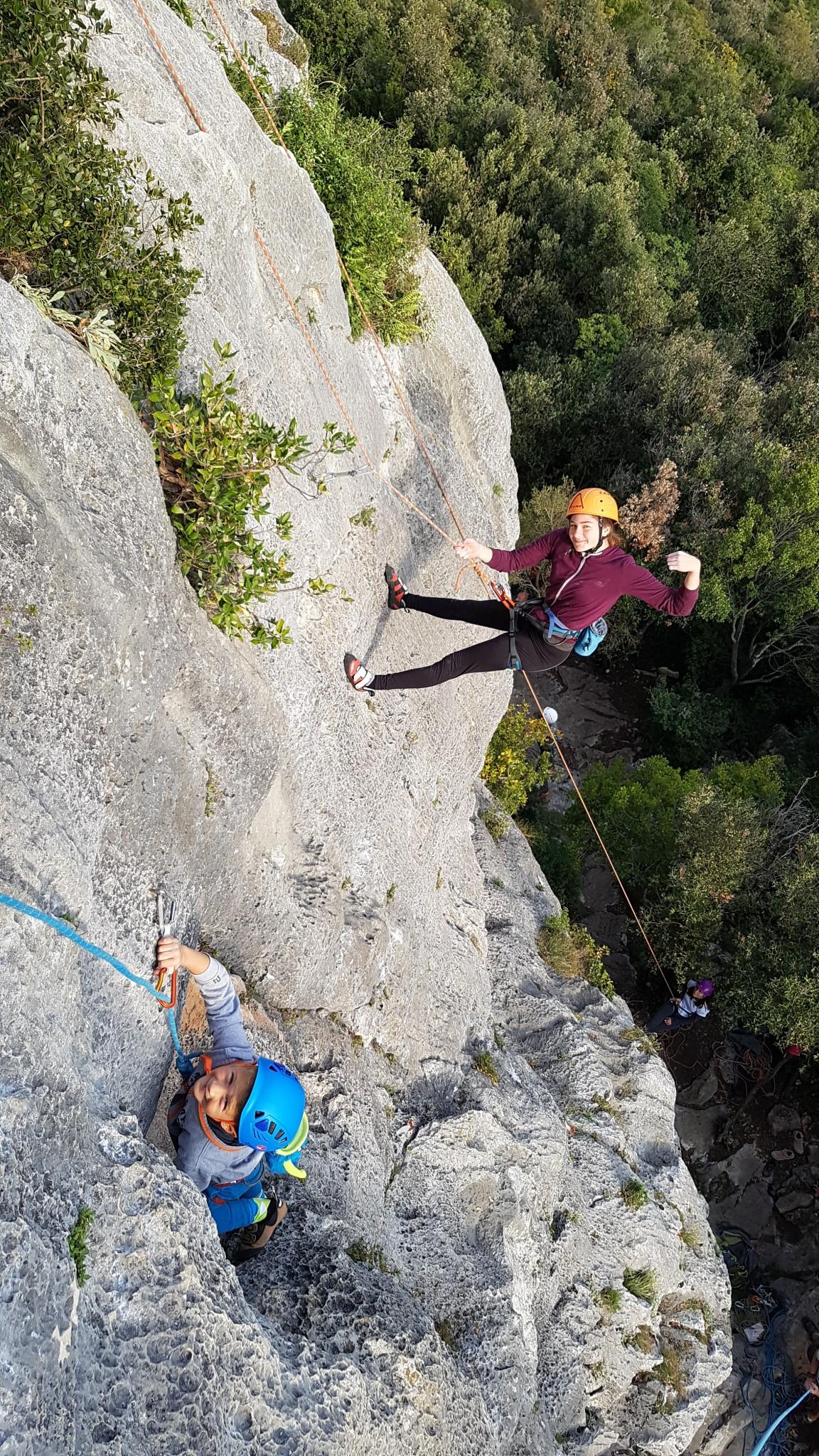 Jesenski plezalni tabor v Istri