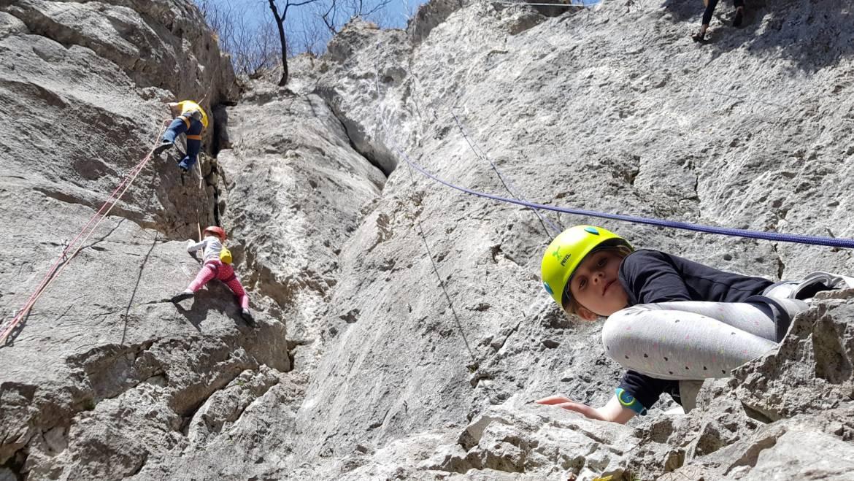 Pomladansko plezanje v Preddvoru – 8. april