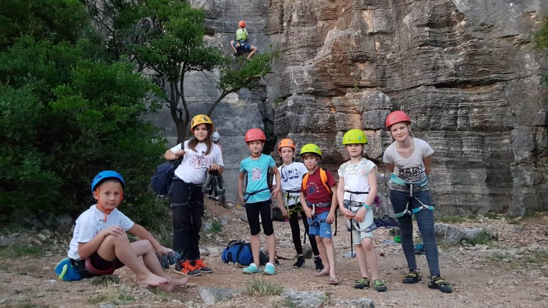 Pomladni plezalni tabor z mlajšimi plezalci – 11. – 12.5.2018