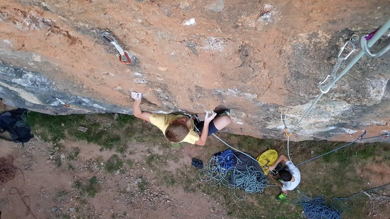 Junijski treningi v plezališču Kamnitnik