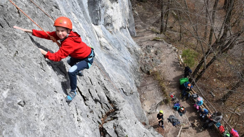 Plezanje v plezališču Preddvor – 16.3.2019