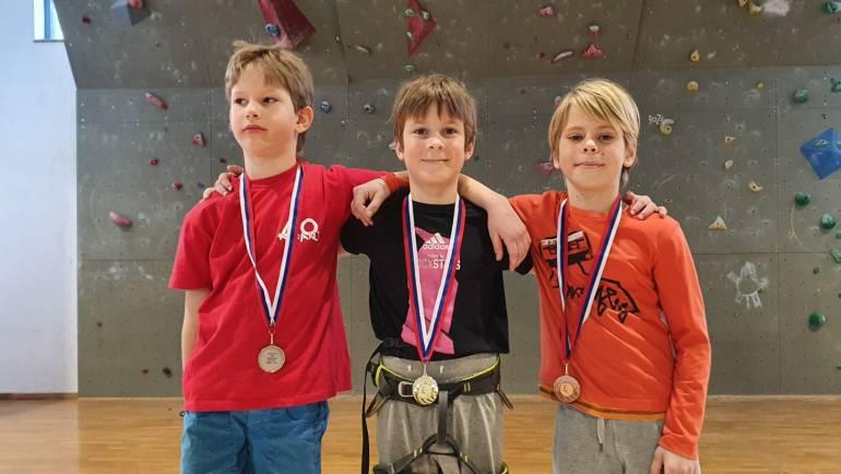 Jošt Gašperlin zmagovalec Osnovnošolske plezalne tekme – 7. marec 2020